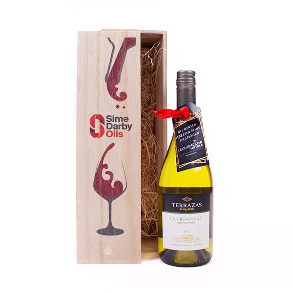 Bedrukte Wijnkist Terrazas Chardonnay 2017