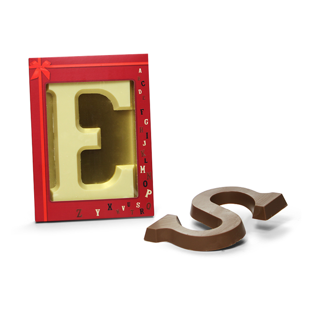 Chocoladeletter A t/m Z, 175 gram