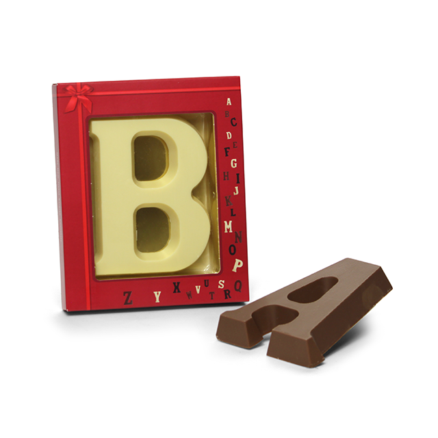Chocoladeletter A t/m Z, 80 gram