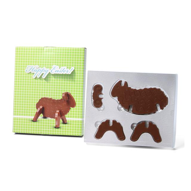 3D chocolade puzzel