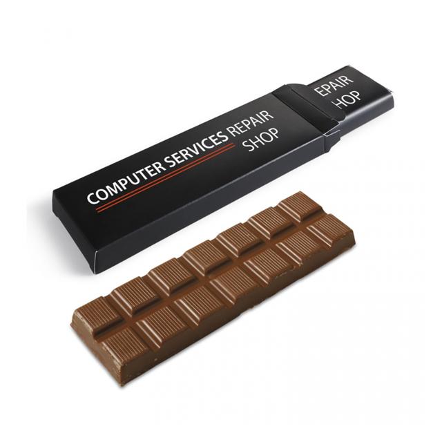 Chocoladereep in eigen doosje