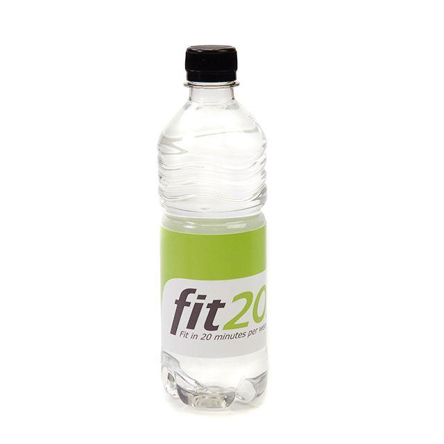 Ribbel flesje mineraalwater 50 cl