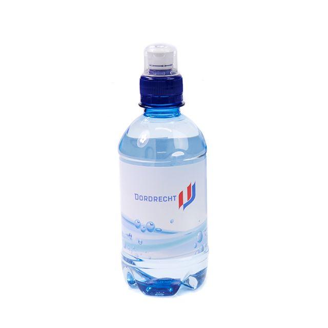 Flesje mineraalwater 33 cl met sportdop