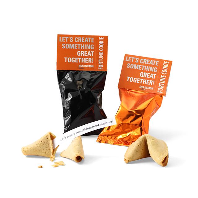 Fortune Cookie | eigen tekst | met topkaartje