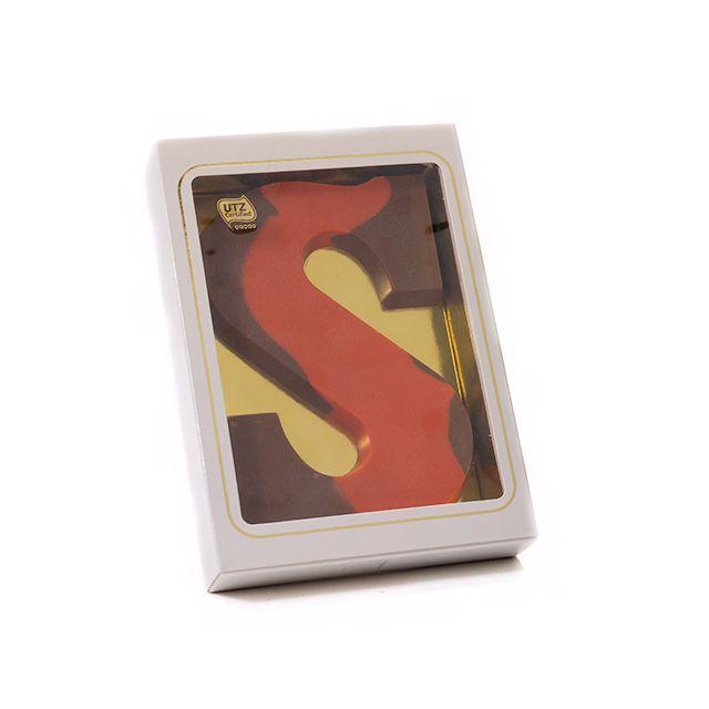 Gekleurde chocoladeletter S, 200 gram