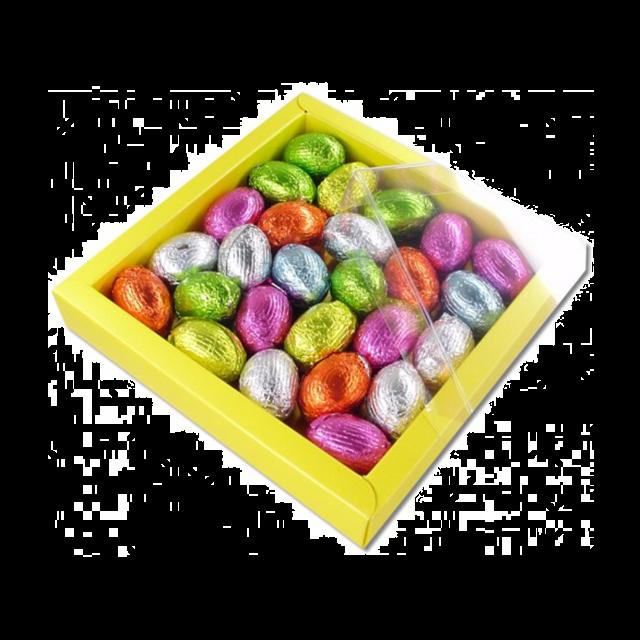 Geschenkdoos met paaseitjes - 210 gram