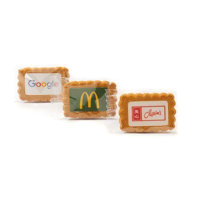 Gingerbread koekje met logo