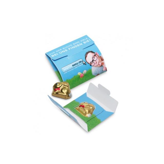 Mini paashaas in eigen envelopverpakking