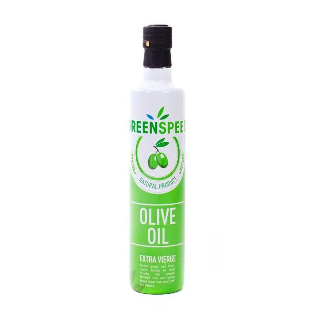 Bedrukte fles olijfolie