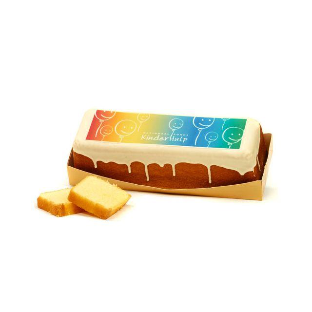 Roomboter cake XL met eigen logo