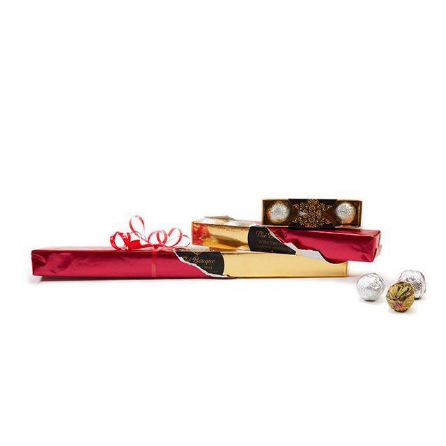 Theebloemen in geschenkverpakking - L