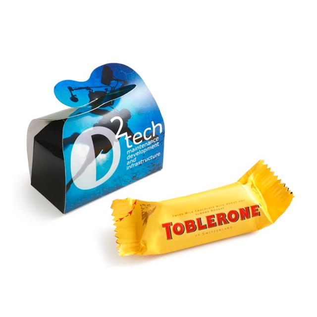 Toblerone in eigen doosje