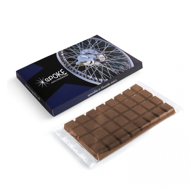 XL chocoladereep in eigen doosje