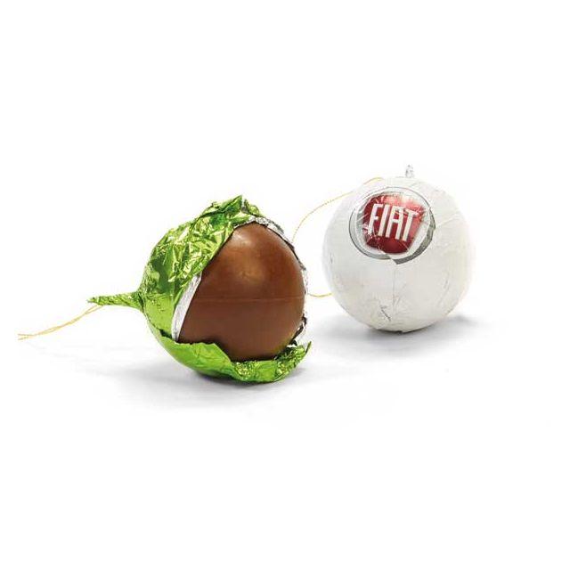 Chocolade kerstballen (1 kleur)