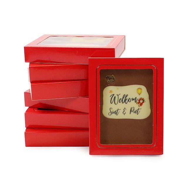 Chocoladetablet - Sinterklaas