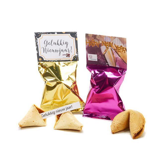 Fortune Cookie met topkaart - Oud & Nieuw