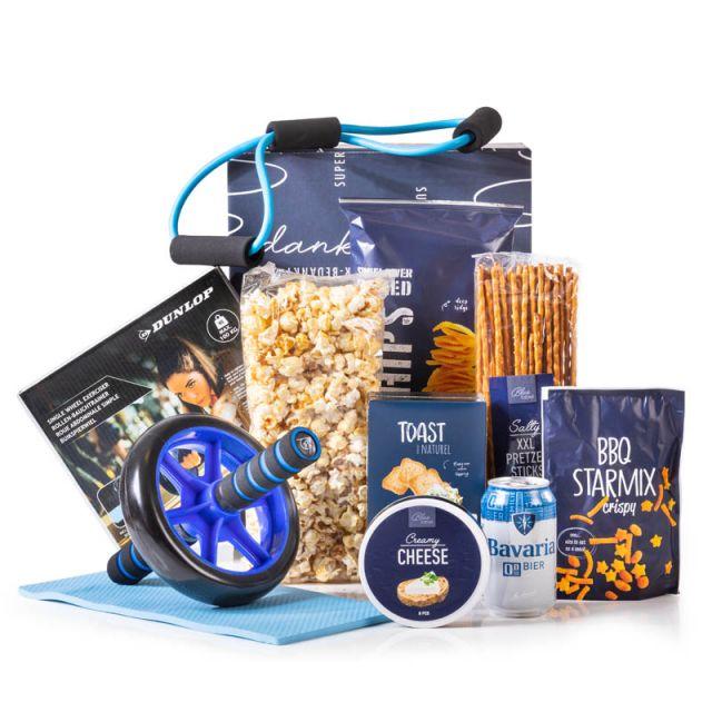 Kerstpakket Blue Sports