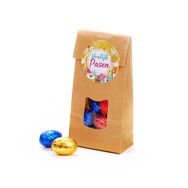 Paaseitjes in papieren zakje - klein