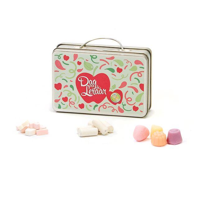 Koffer vol snoepjes