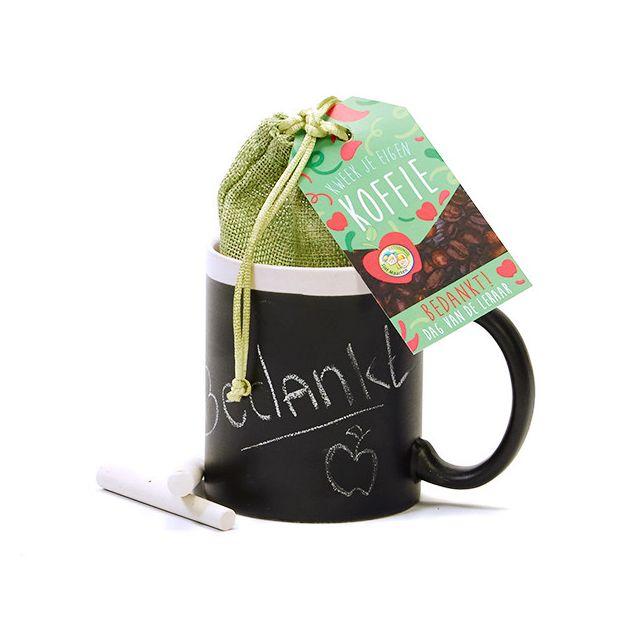 Koffie kweekset in krijtmok - Leerkracht