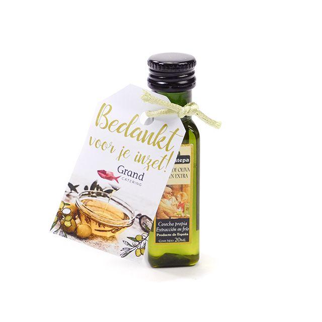 Olijfolie in flesje