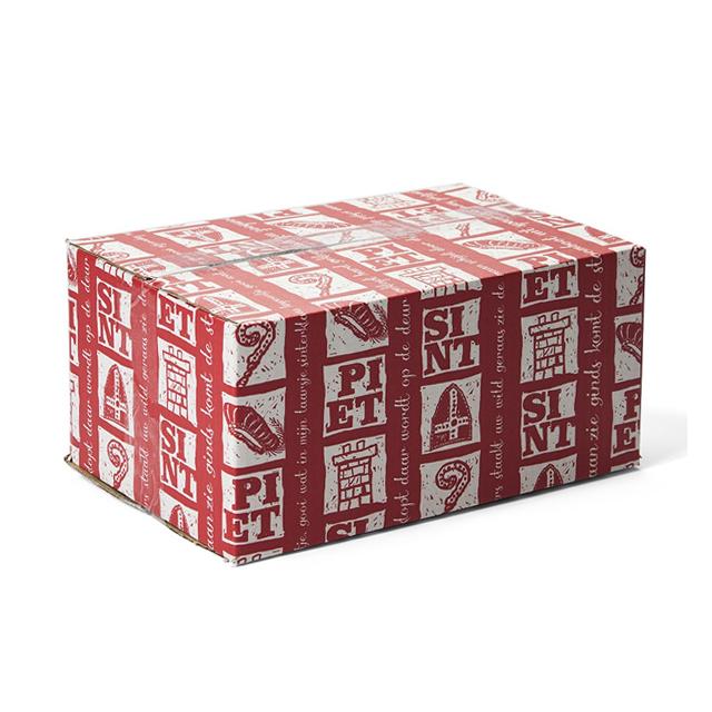 Sinterklaas verzendverpakking