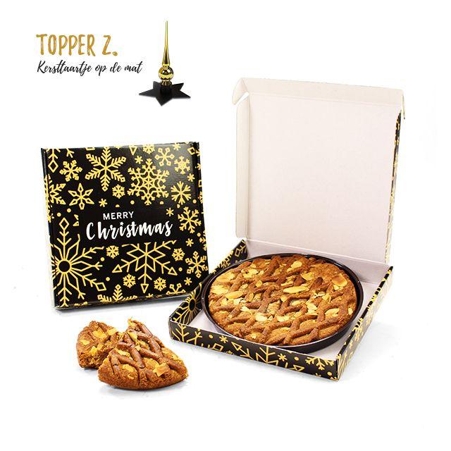 Kersttaartje op de mat