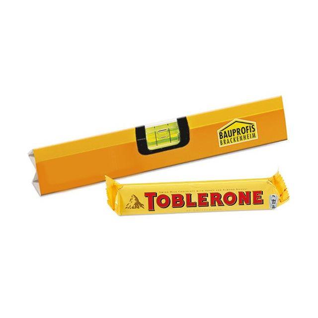 Toblerone in eigen sleeve