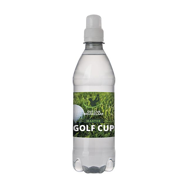 Flesje bronwater 50 cl met sportdop