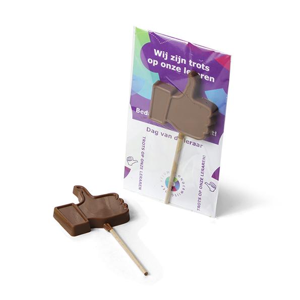 Magnifiek Chocolade Like lolly - nieuwe volgers gegarandeerd! #XT22