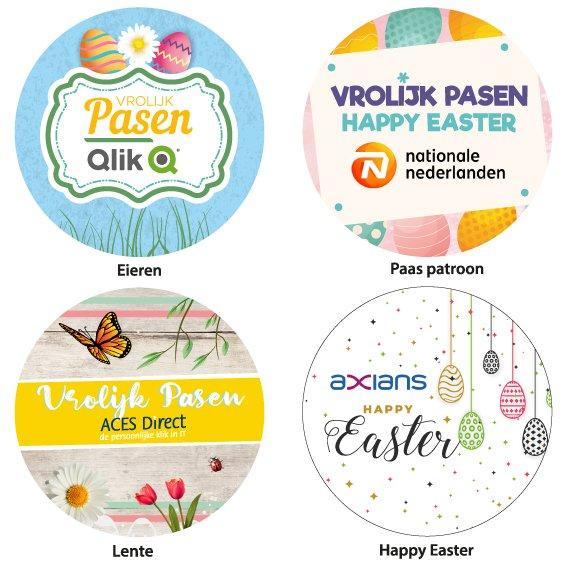 Paasontwerp sticker