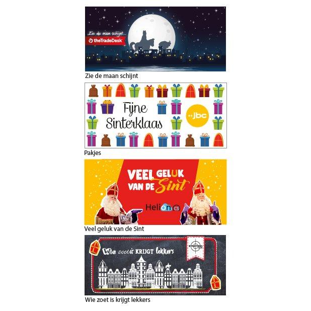 Standaard ontwerpen Sinterklaas topkaart