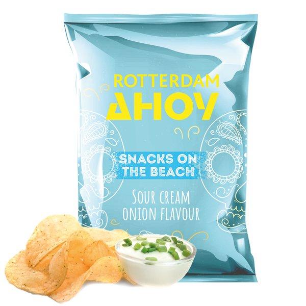 Chips lichtblauw