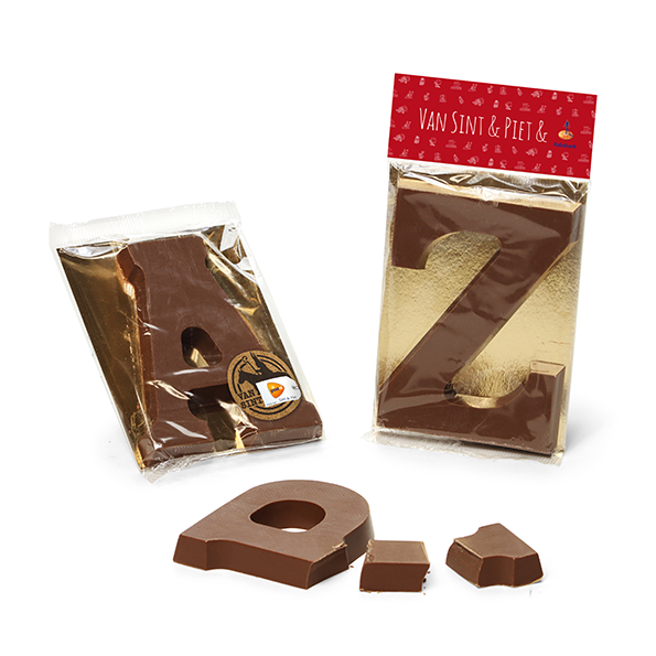 Chocoladeletter A t/m Z, 135 gram
