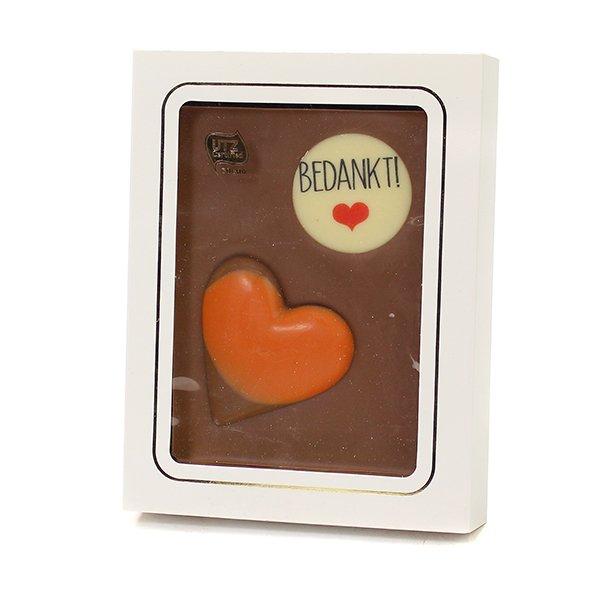 Chocoladeplak - bedankt