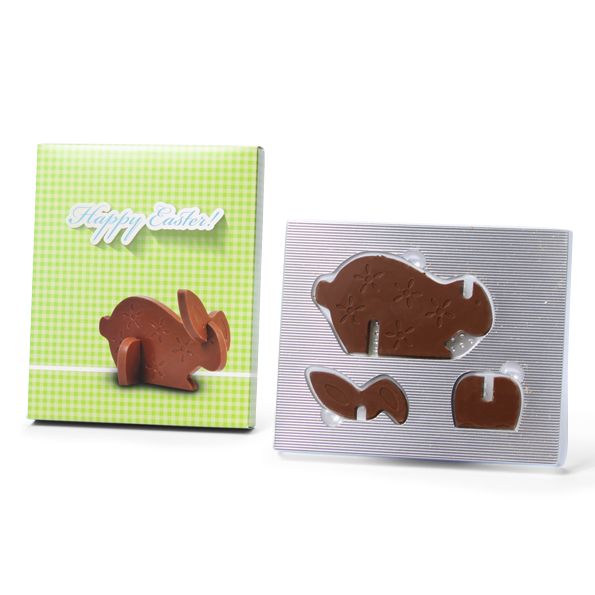 3D chocolade puzzel 2