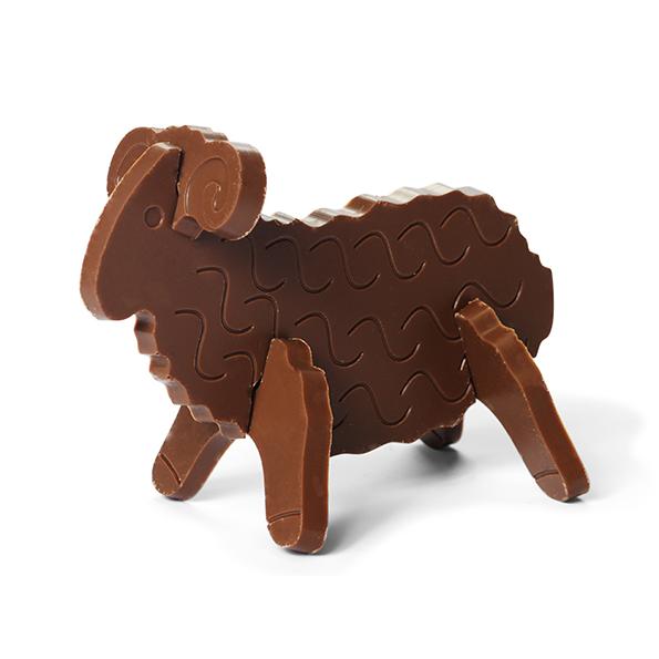 3D chocolade puzzel 3