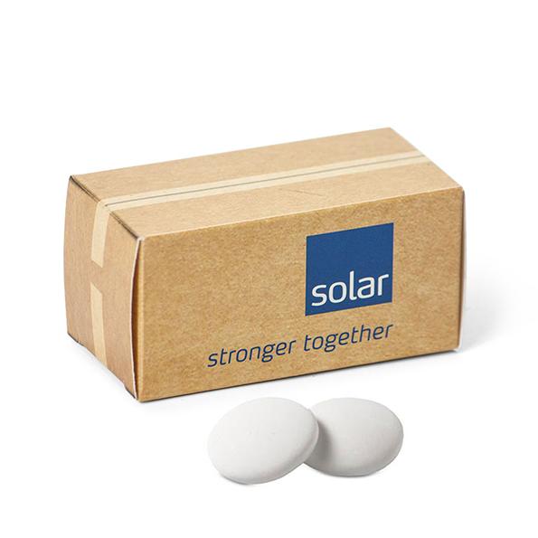 Container doosje met pepermunt - Solar Nederland