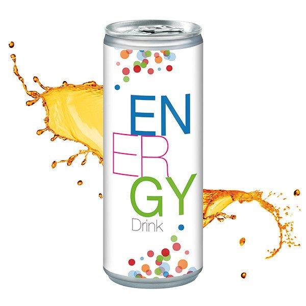 Energy Drink blikje - budget