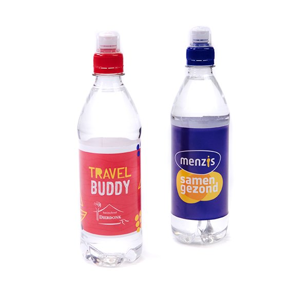 Flesje mineraalwater 50 cl met sportdop