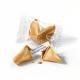 Fortune cookie met standaard spreuken - transparante folie