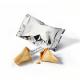 Fortune cookie met standaard spreuken - zilvere folie