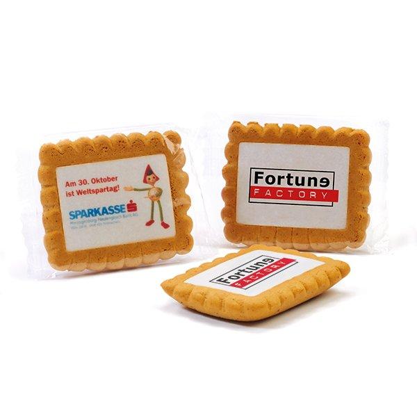 Gingerbread koekje met logo - XL
