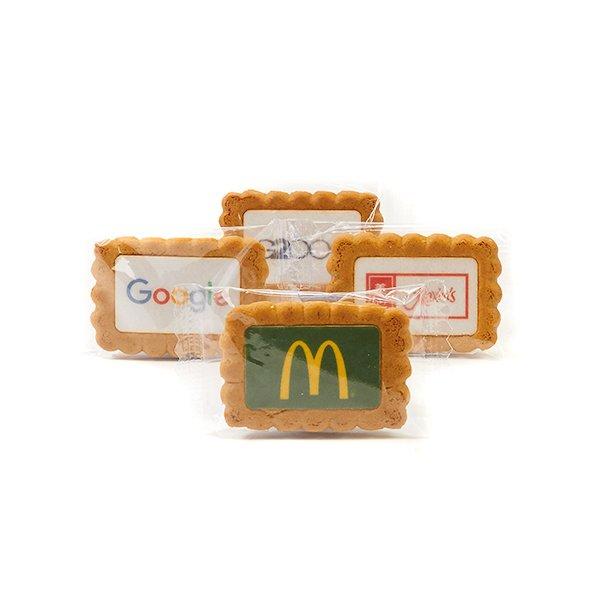 Gingerbread koekje met logo 2