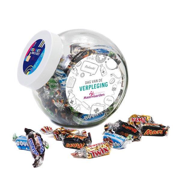 Snoeppot Celebrations voor de Zorg