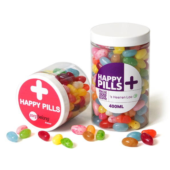 Happy Pills - potje met Jelly Beans