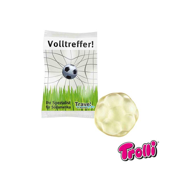 Jellysnoepjes in verschillende vormen - voetbal