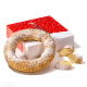Roomboter kerstkrans - Kruimel