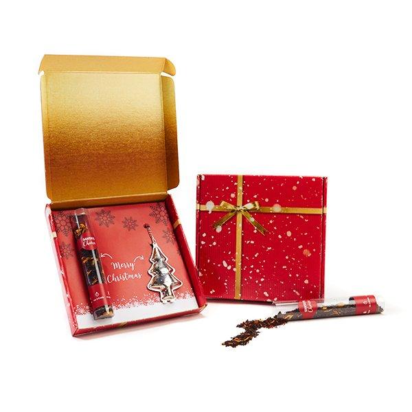 Kerstthee met infuser geschenk