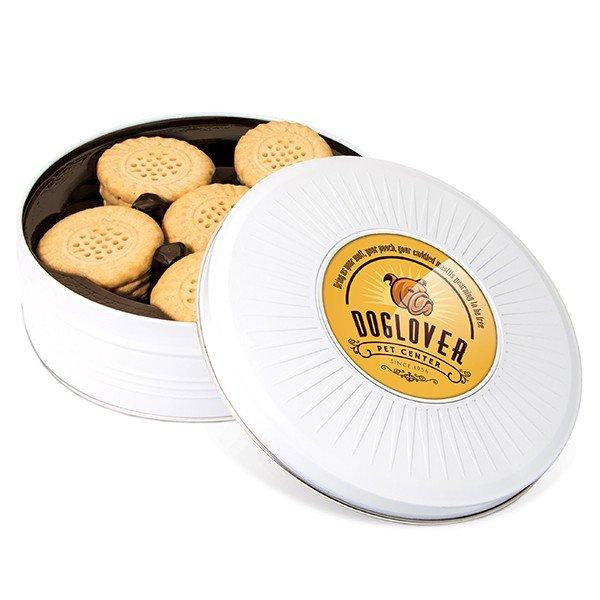 Koekblik met doming sticker - butter short bread cookies